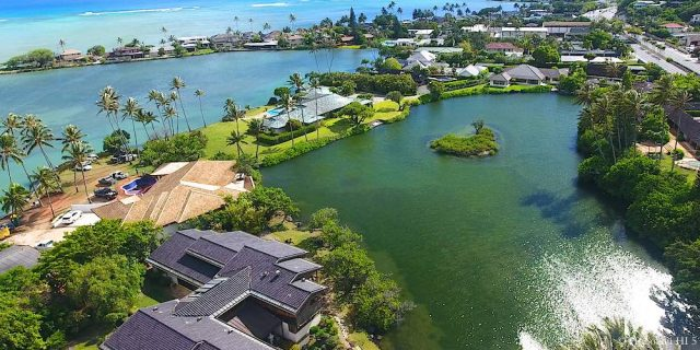 Paiko Lagoon Drone Photo