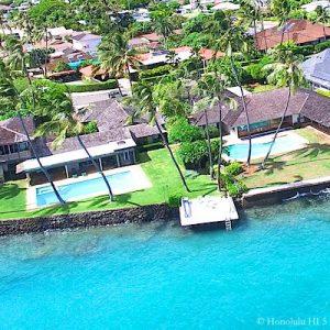 Wailupe Beach Oceanfront Homes