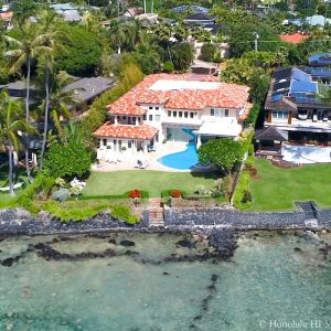4375 Royal Place Luxury Home - Drone Photo