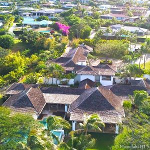 Luxury Home at 503 Portlock Rd - Drone Photo