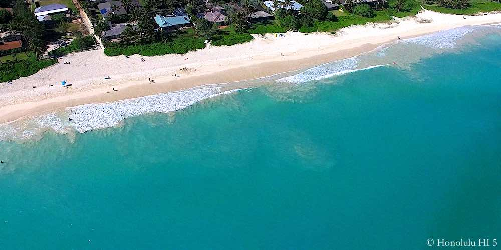 Beach in Kailua Beachside