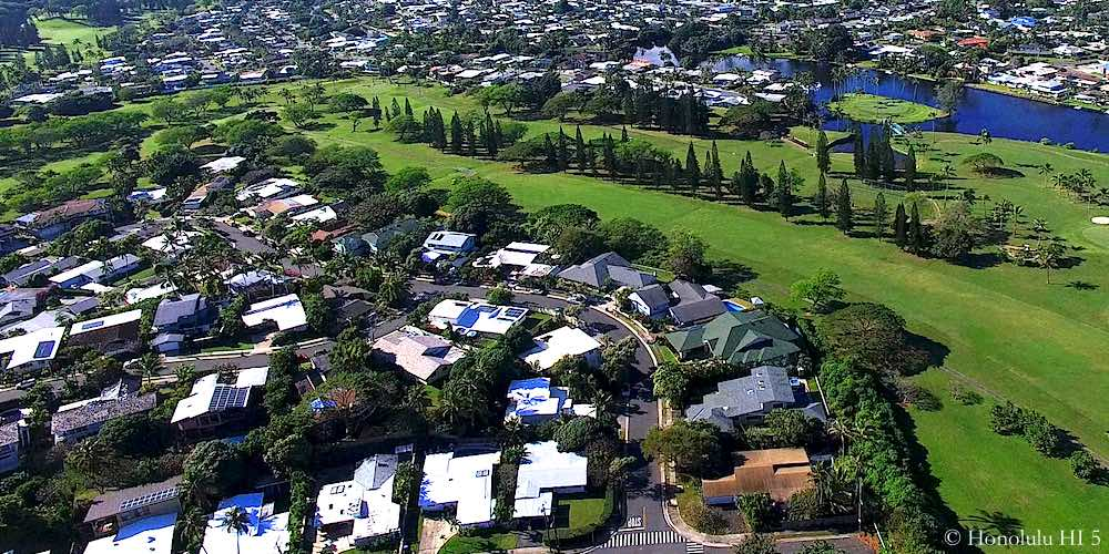 Country Club Knoll Homes in Kailua