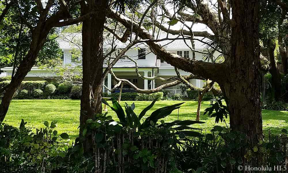 Honolulu Historic Homes - Guide with Map & Pictures on