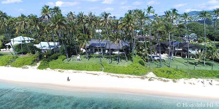 Kahala Ave Beachfront Luxury Homes