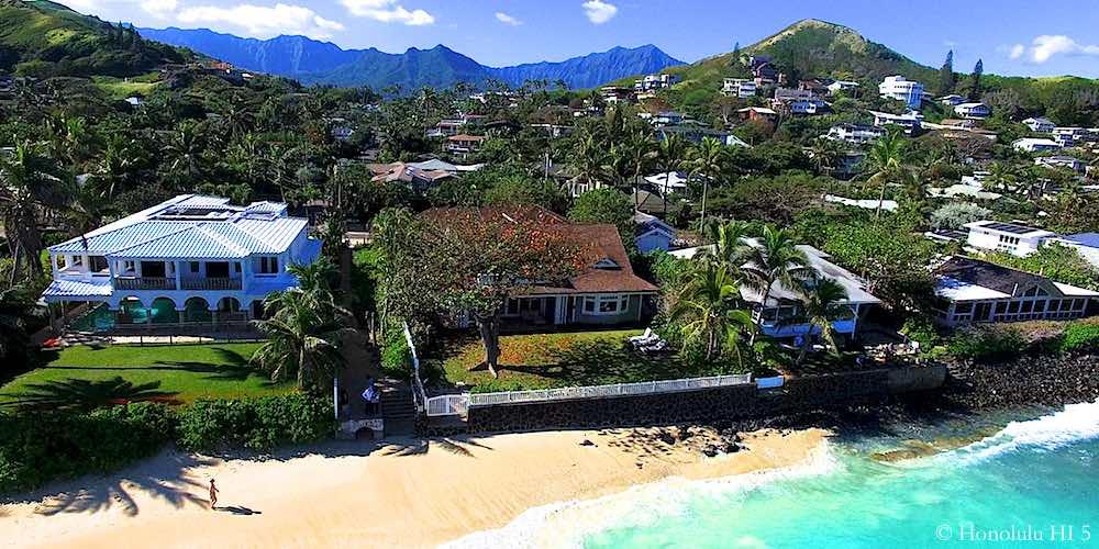 Lanikai Beachfront Homes