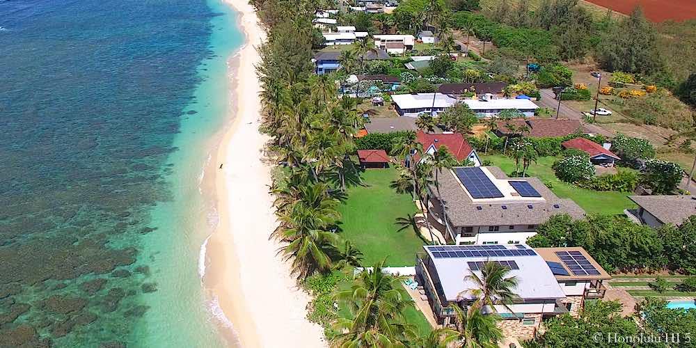 Mokuleia Beachfront Homes