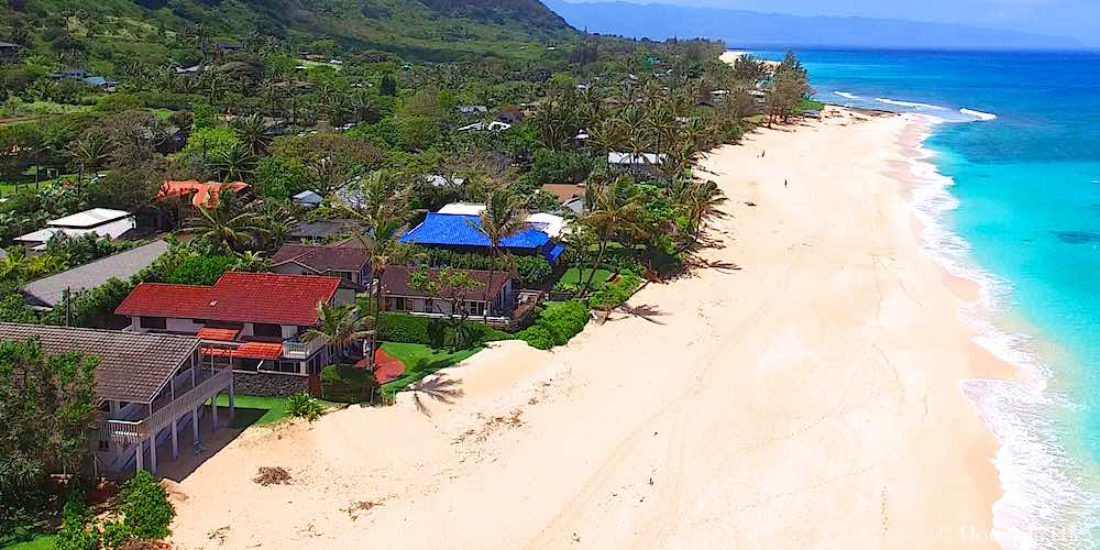 Sunset Beachfront Homes - Oahu North Shore