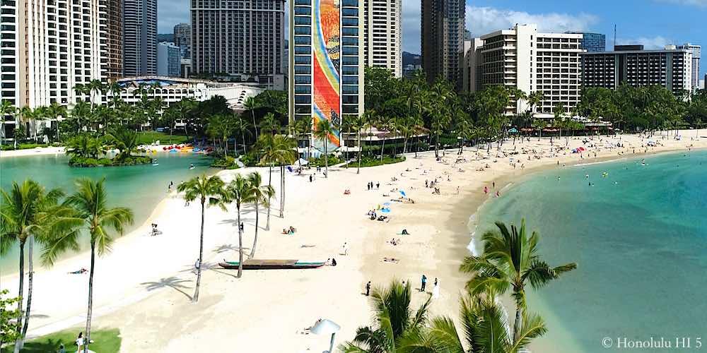 Waikiki Beach by Hilton Hawaiian Village