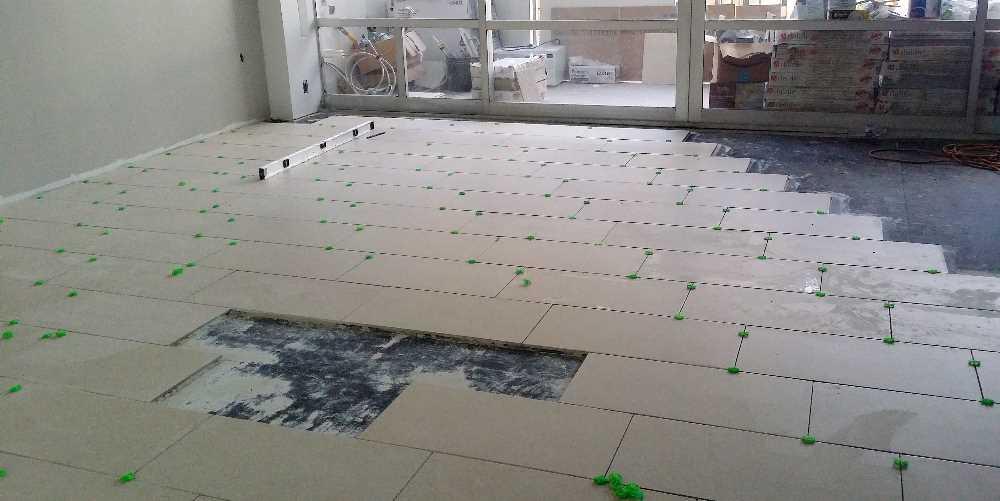 Week 8 - new tile floor