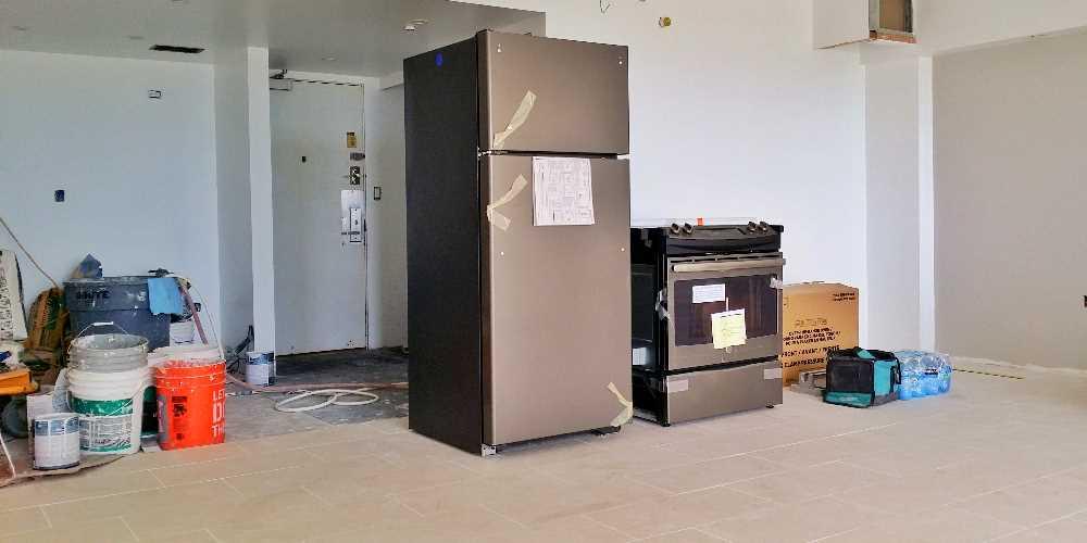 Week 8 - Appliances delivered