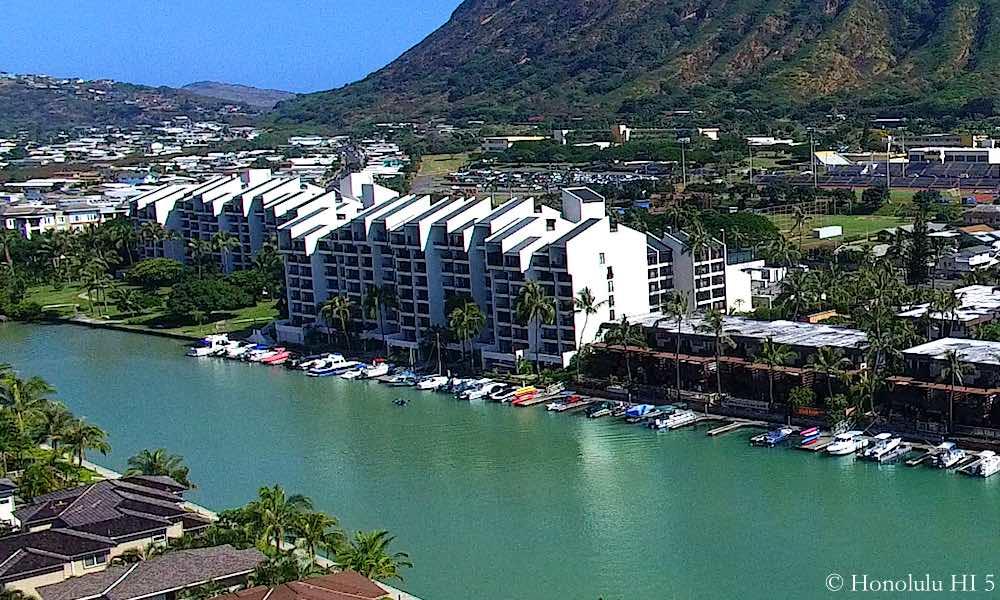 Esplanade Hawaii Kai Drone Photo