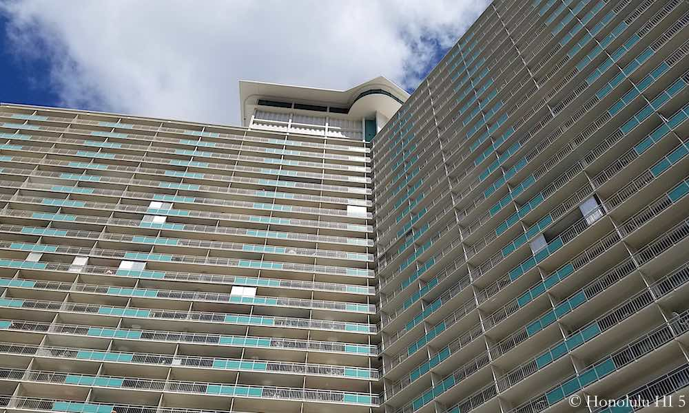 Ilikai Apartments - Zoom in Exterior Photo