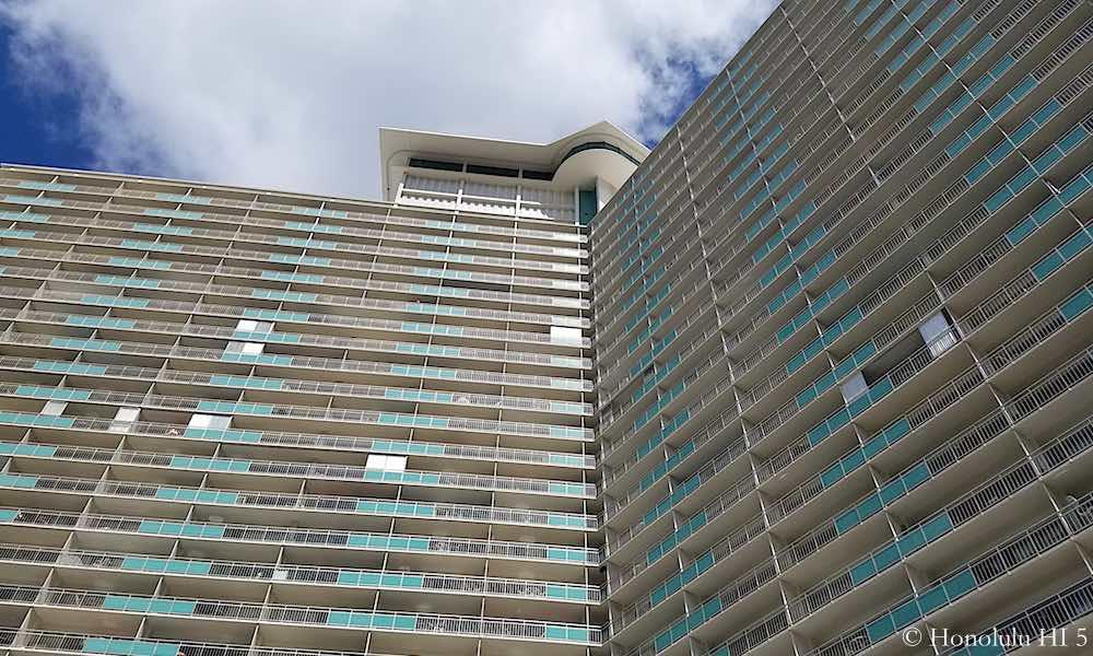 Ilikai Apartments - Zoom in Exterior Photo