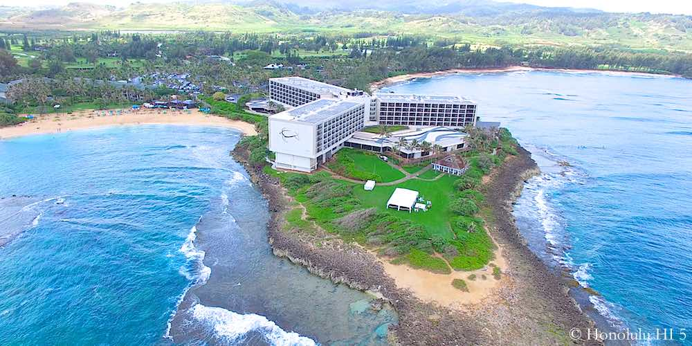 Turtle Bay Resort - Drone Photo