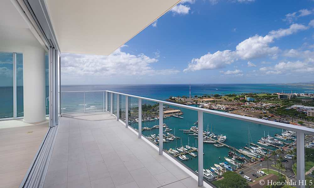 honolulu condos with best balconies lanais