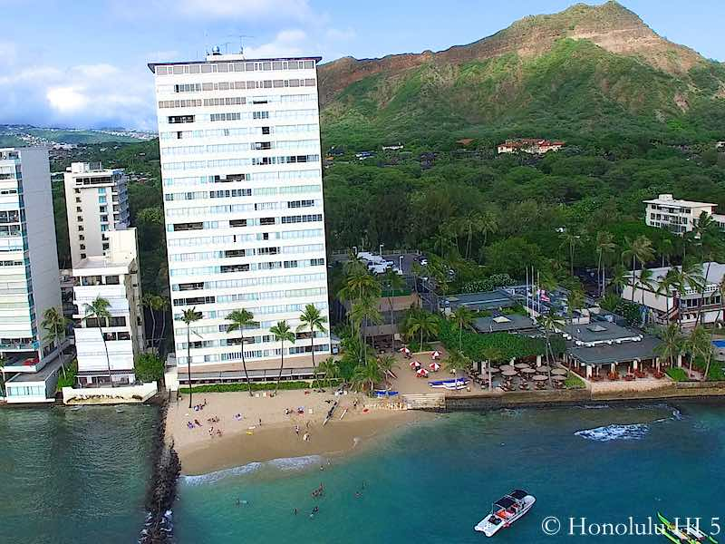 Colony Surf Condo in Diamond Head