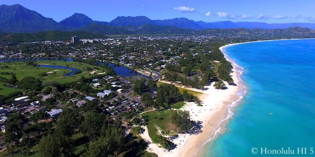 Kailua Aerial Photo - Seen From Kailua Beach Park