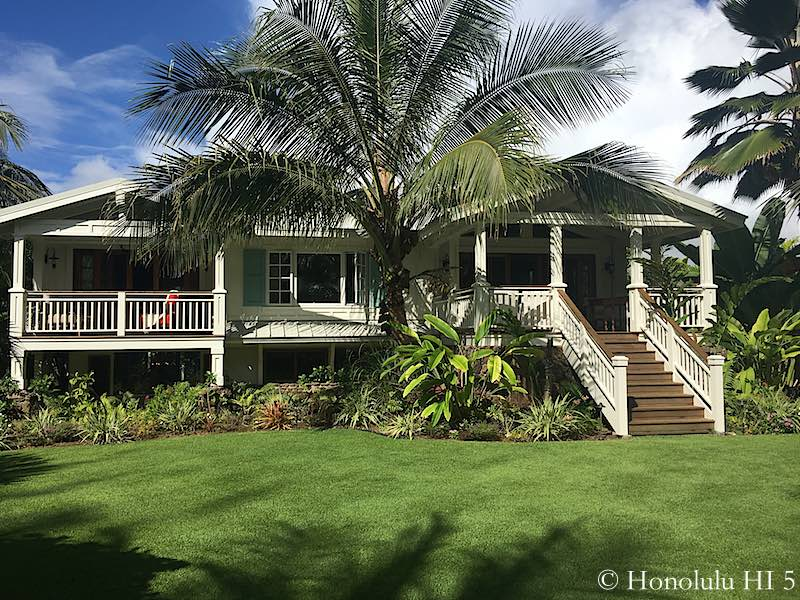Kailua Fixer Upper - After Remodel Exterior and Front Yard