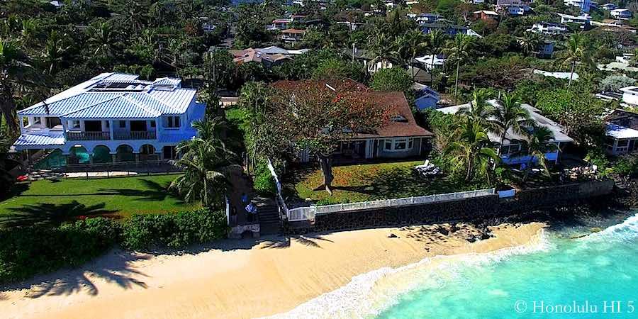 Landkai Beachfront Homes - Drone Photo