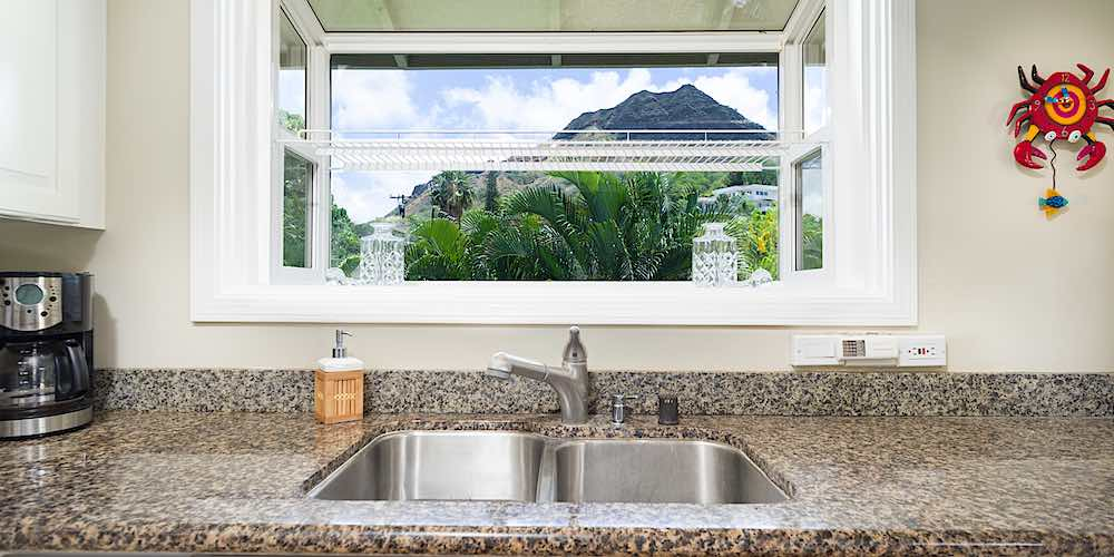 2819 Coconut Ave - Second Floor Diamond Head View From Kitchen