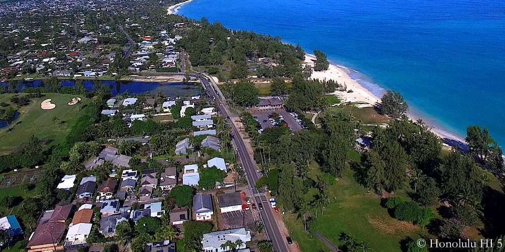 Kawailoa Kailua Homes - Aerial Photo