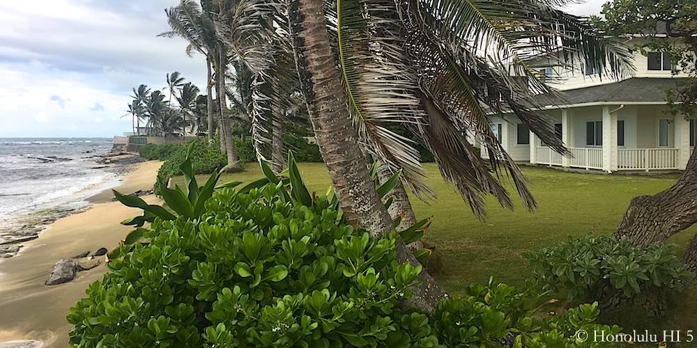 Hauula Oceanfront Home