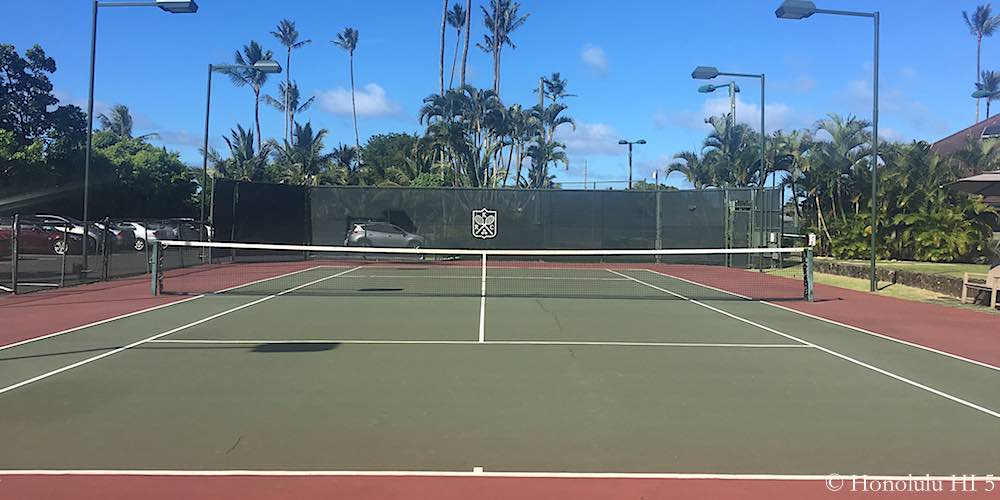 Kailua Racquet Club Tennis Court