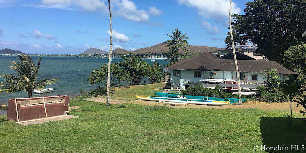 Kokokahi Oceanfront Home in Kaneohe