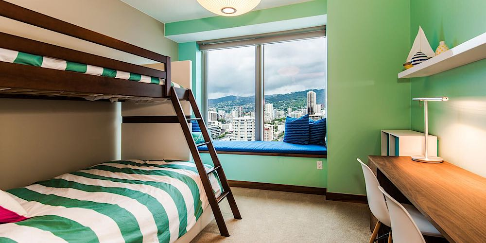 One Ala Moana Penthouse 2000 - Kids Bedroom