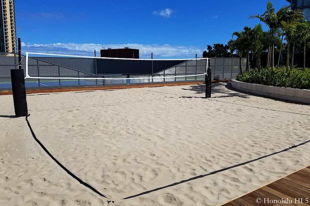 Anaha Beach Volley Court