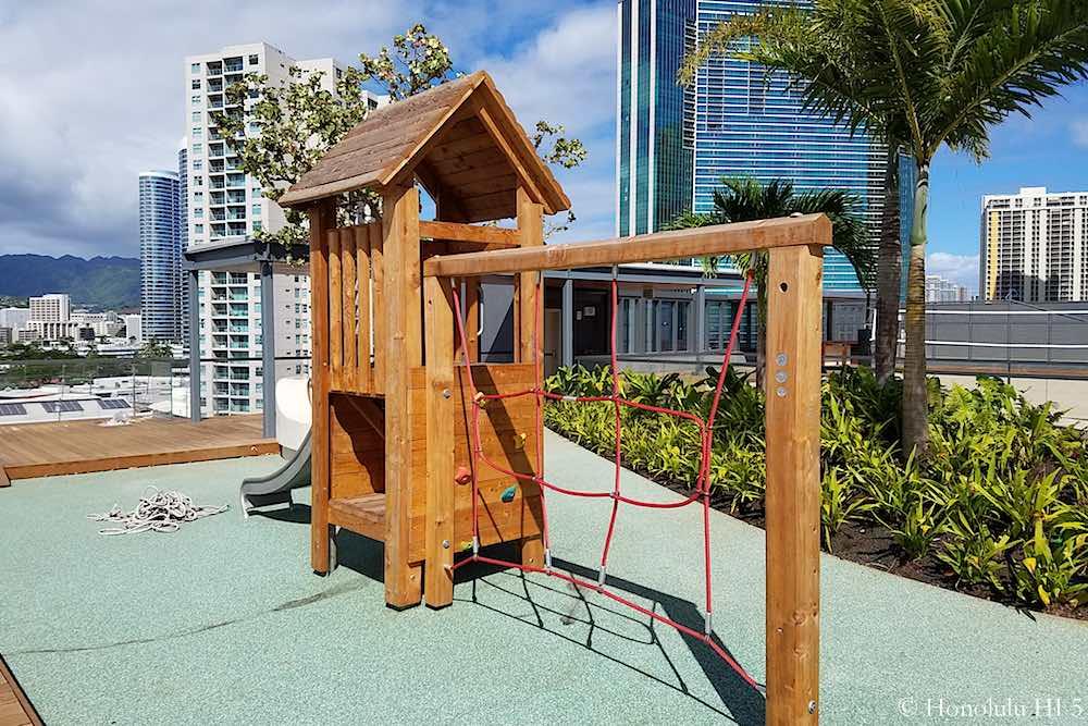 Anaha Amenity Deck Kids Playground