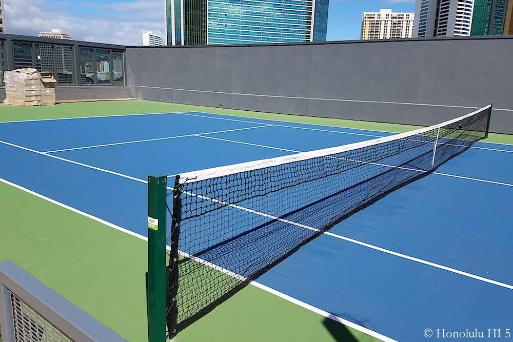 Anaha Tennis Court