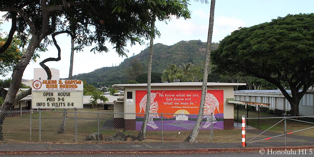 Castle High School in Kaneohe