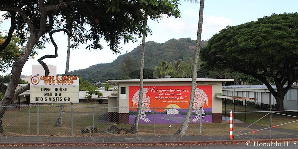 Castle High School in Kaneohe