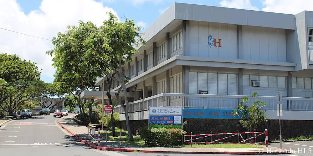 Kalaheo High School in Kailua