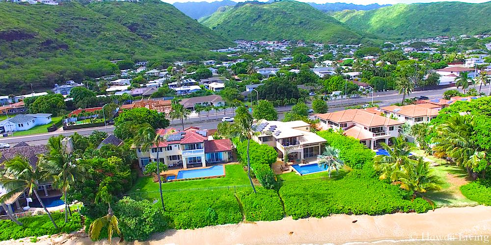 Aina Haina Beachfront Homes