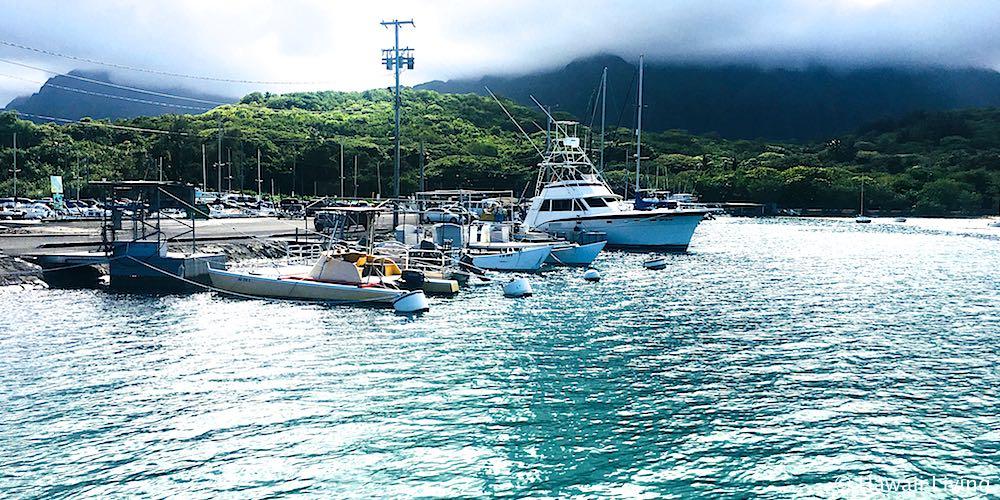 Heeia Kea Small Boat Harbor