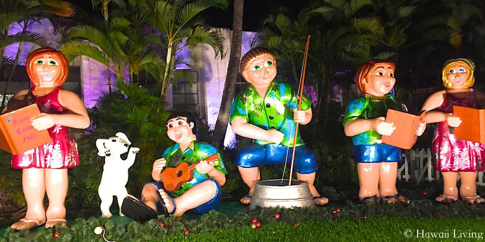 Christmas In Hawaii Decorations.Christmas Celebrations In Hawaii Mele Kalikimaka