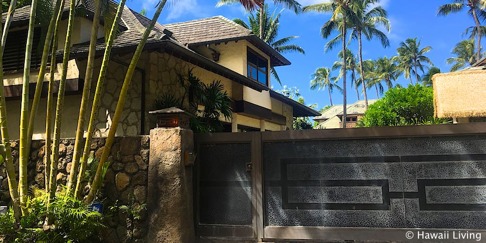 Kelly Slater's House on Papailoa Rd