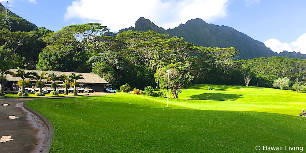 Pali Golf Course in Kaneohe