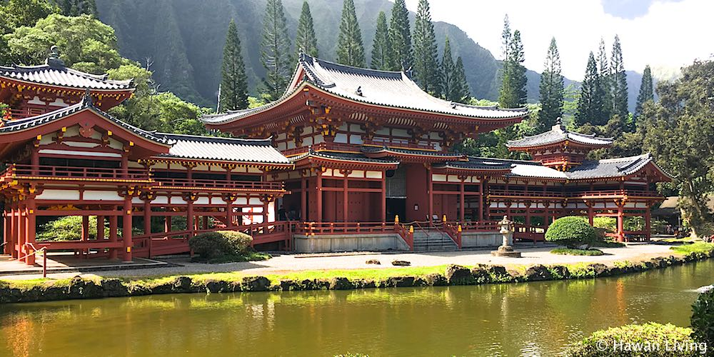 Valley of the Temples in Kaneohe