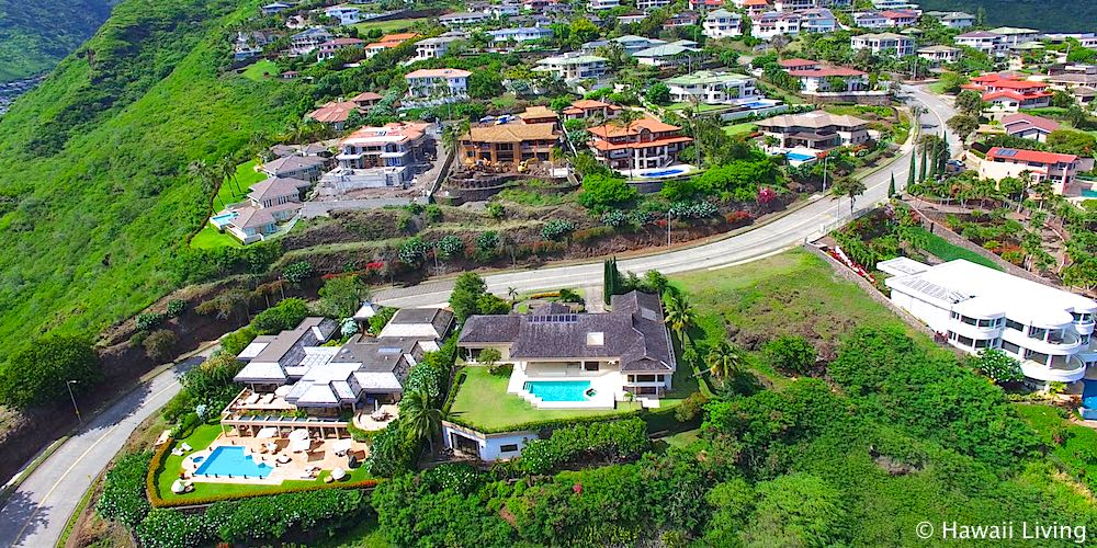 Hawaii Loa Ridge Luxury Homes