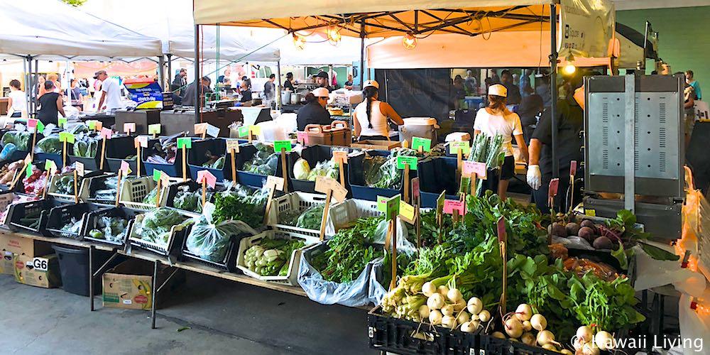 Kailua Thursday 5pm to 7:30pm Farmers Market