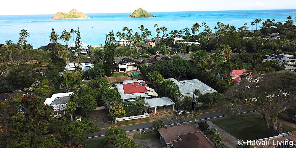 Lanikai Homes - Aerial Photo