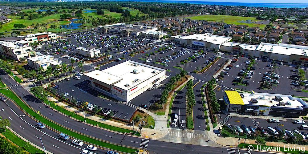 Laulani Village Shopping Center - Aerial Photo