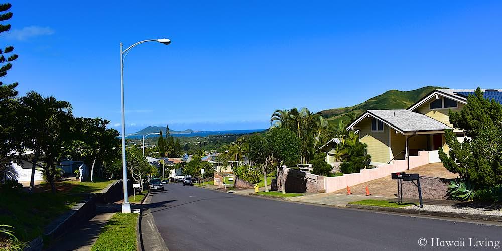 Auwaiku Street, Kailua