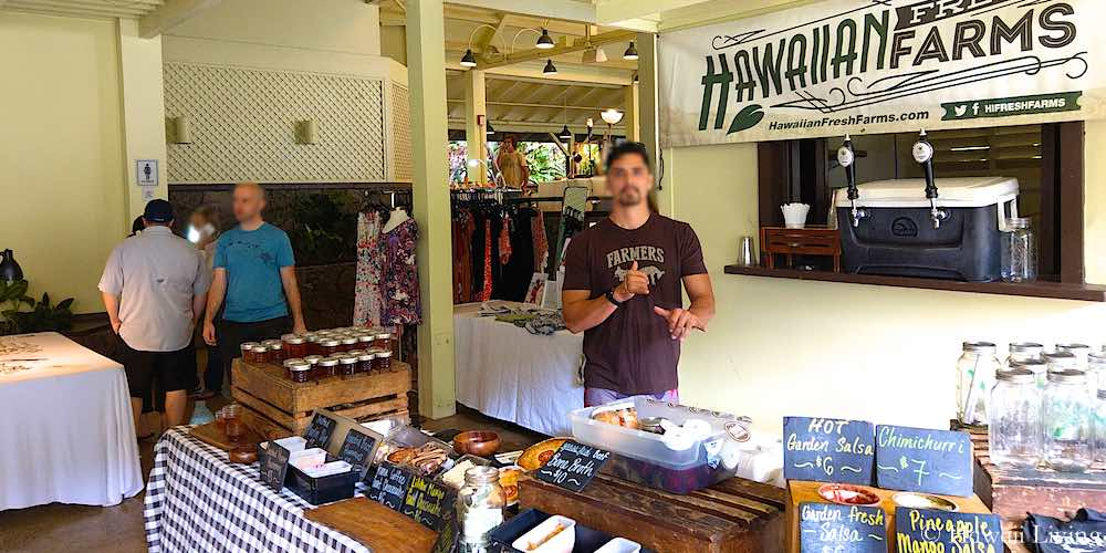 Hawaiian Fresh Farms at Waimea Farmers Market