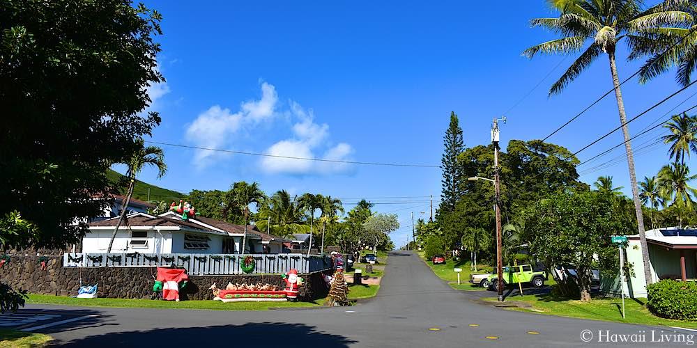 Ilimano Street in Kailua