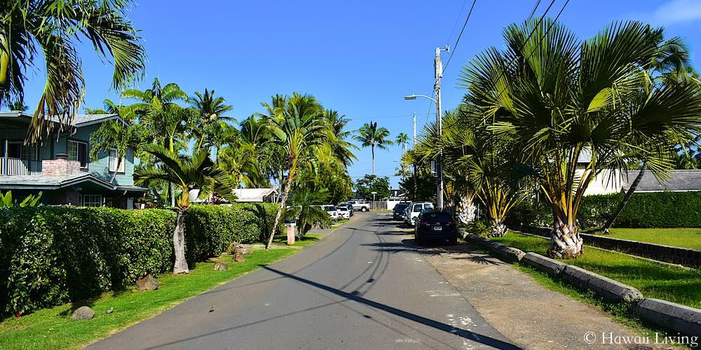 Lanipo Drive in Lanikai