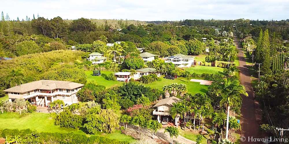 Pupukea Homes - Aerial View
